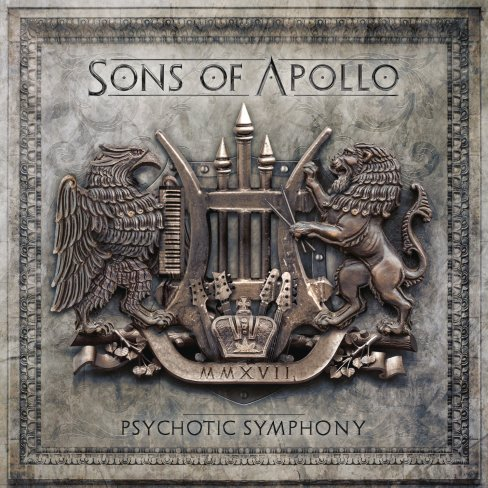 SONS OF APOLLO - Psychotic Symphony - front