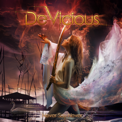 DeVicious CD Never Say Never Cover 2018.png